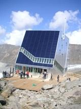 Jubiläumsprojekt 150 Jahre ETH Neue Monte Rosa Hütte in Kooperation mit dem Schweizer Alpen-Club SAC